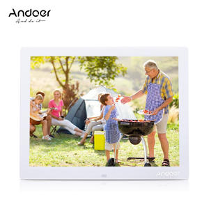 Andoer 1024*768 Alarm Clock Digital Photo Frame Digital Picture Frame