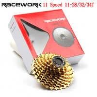 11 prędkości kaseta rower szosowy 28T 32T 34T rowerów złoty kaseta dla Shimano 105 6800 R7000 R8000