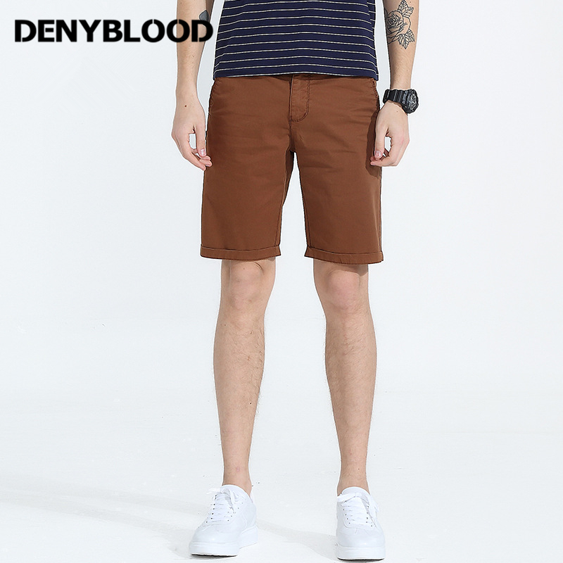 Denyblood Jeans Mens Shorts 2018 Summer New Arrival Mens Casual Shorts Capris Bermuda 2203