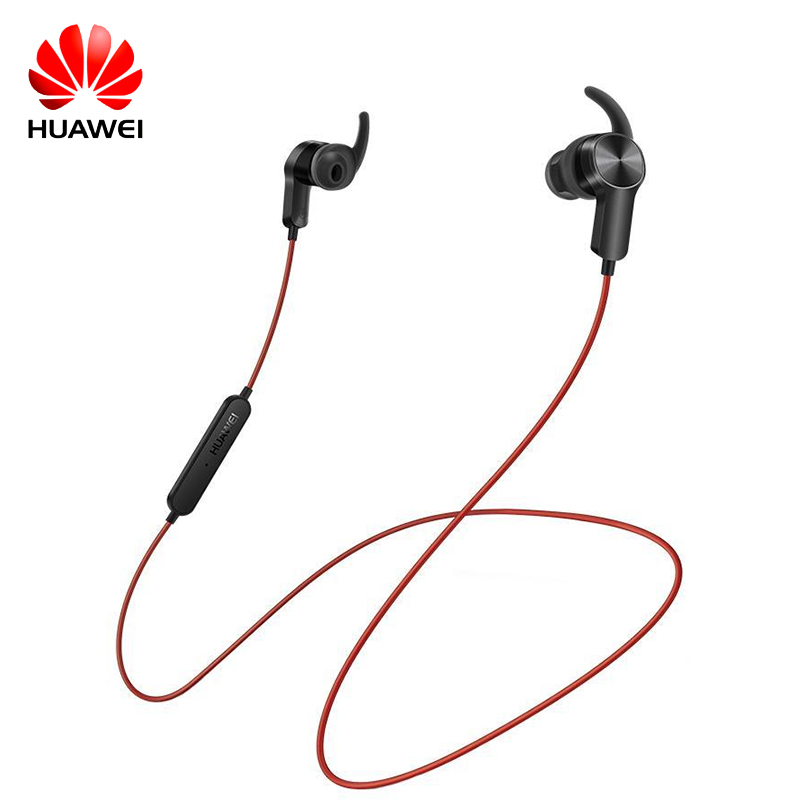 Original Huawei Sport Bluetooth Headset AM60 CSR Apt-X Music Life Waterproof Mic Control Wireless Earphones for Android IOS sport life