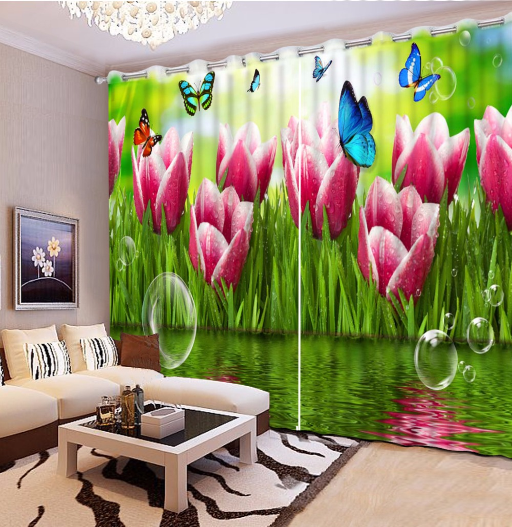 extraordinary cafe curtain living room   Photo Customize 3D Curtains For Living Room Bedroom ...