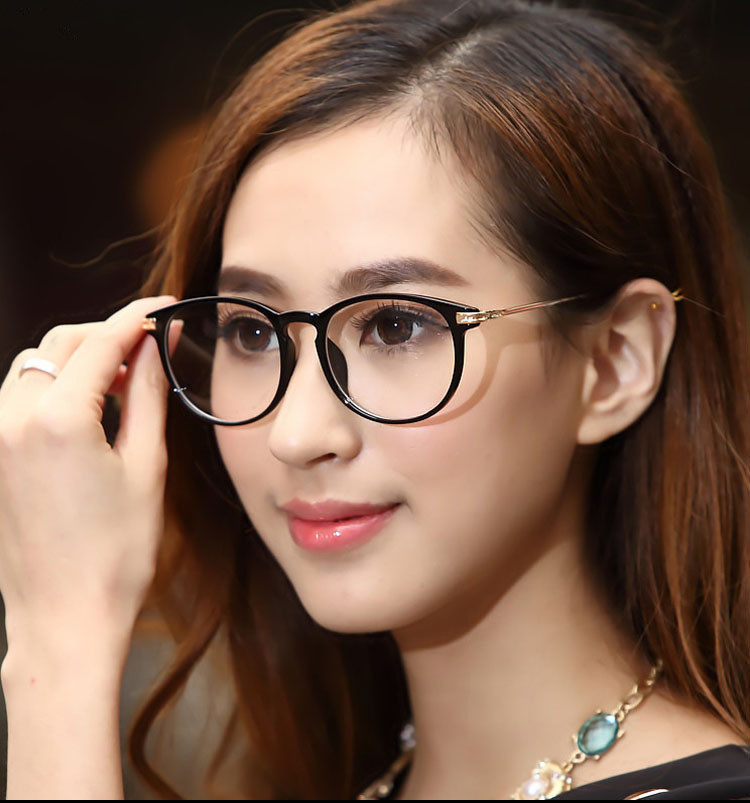glasses frames styles 2015  2015 High Quality Vintage Eye Glasses Frames Unisex Solid Clear ...
