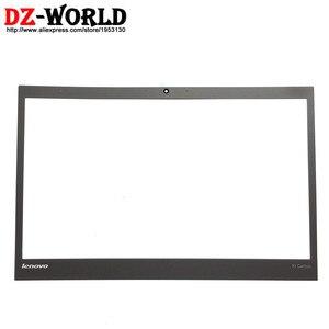 Image 2 - Nowy/oryg LCD z przodu arkusz Bezel pokrywa zewnętrzna naklejki dla Lenovo ThinkPad X1 węgla 2nd 3rd Gen nie dotykowy 04X5567 04X5569