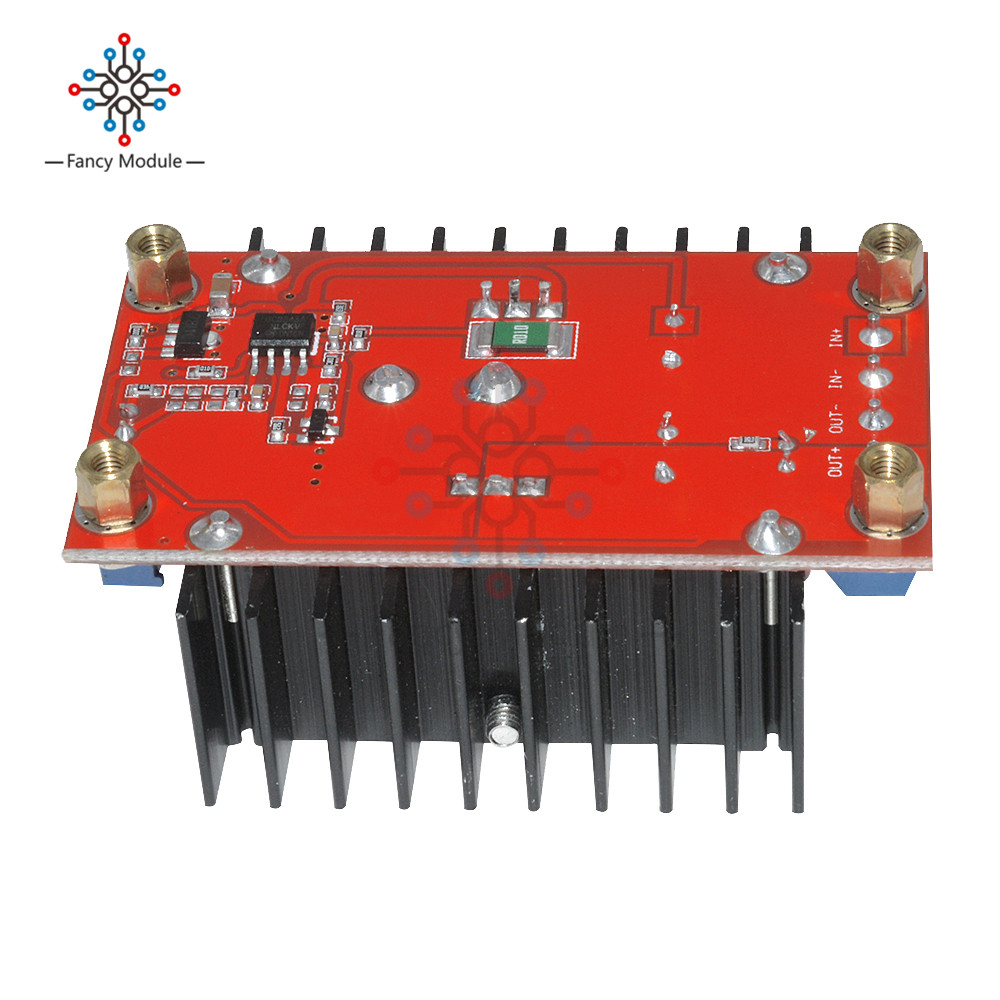 Dc Boost Converter Step Up Module Adjustable To Circuit Static Power Supply Voltage Regulator 150w In Regulators Stabilizers