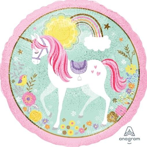 """Unicorn Sparkle 18/"""" Foil Balloon"""