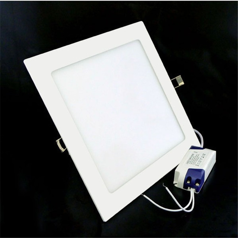 25W Warm White Natural White Cold White Square LED Panel Light Recessed LED Ceiling Downlight light