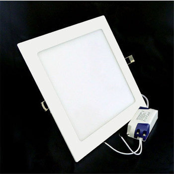 25W Warm White/Natural White/Cold White Square LED Panel Light Recessed Ceiling Downlight light AC85-265V 60pcs DHL Free - discount item  15% OFF LED Lighting