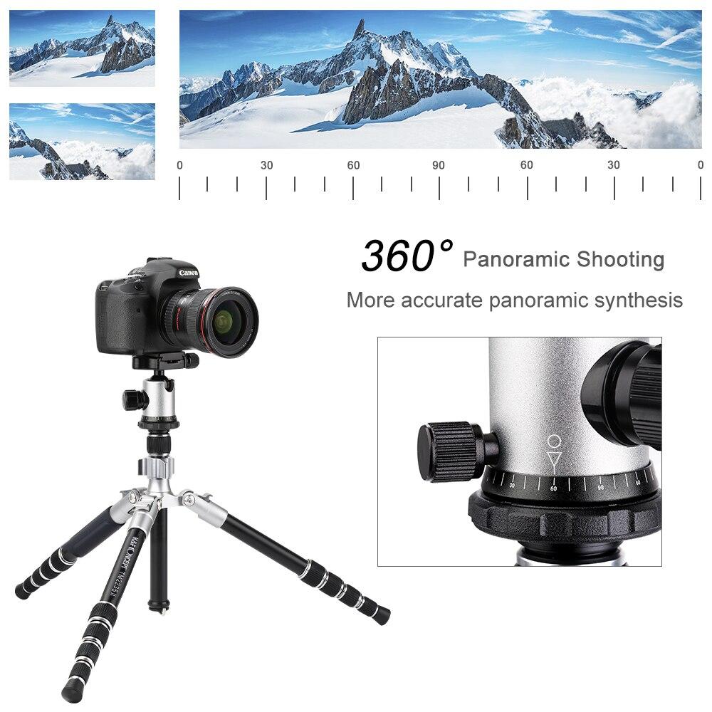 K & F CONCEPT TM2235II 5 Secties Draagbare Lichtgewicht Camera Statieven Professionele Compact Legering DSLR SLR Statief - 3