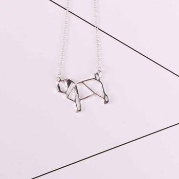 Dog Pendant Pug Necklace 3