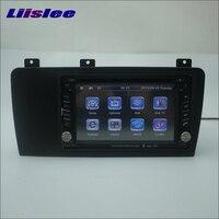 Liislee Voor Volvo V70 2003 ~ 2006 Autoradio Stereo CD DVD speler GPS Kaart Navi Navigatiesysteem Dubbele Din Audio Installatie Set