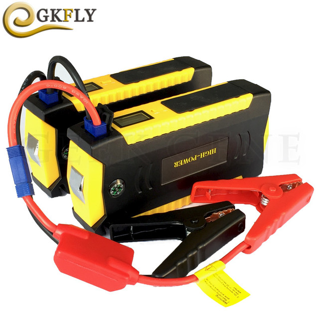 Emergency Starting Device 24V 12V Car Booster Charger High Capacity Petrol Diesel Car Jump Starter Power Bank Compass LED