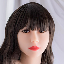 WMDOLL  Tan skin sex doll head for sex silicone doll  chinese love dolls head with oral sex for male