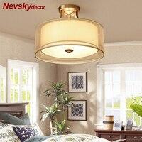 現代銅 plafonnier led シーリングライトリビングルームライト lampy sufitowe 天井ランプ光沢 lamparas デ手帖 plafondlamp -