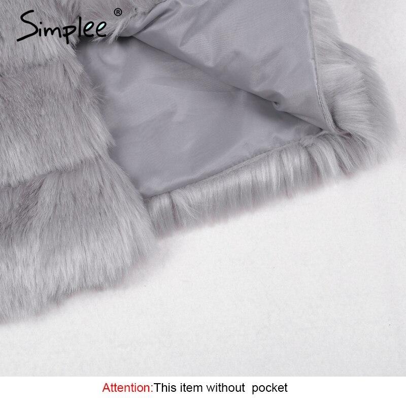Vintage fluffy faux fur coat 5