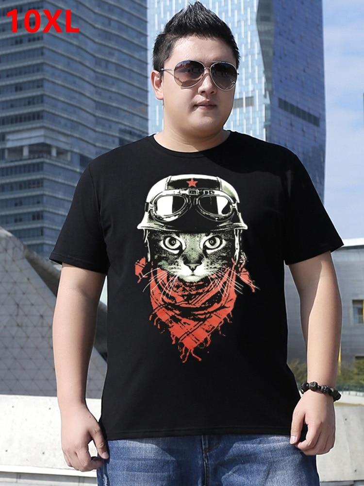 f7d91a9a83 Comprar 2018 dos homens do verão short manga comprida T shirt era fina camisa  camisa plus size half shirt manga comprida Chao 10XL 9XL Baratas Online  Preço