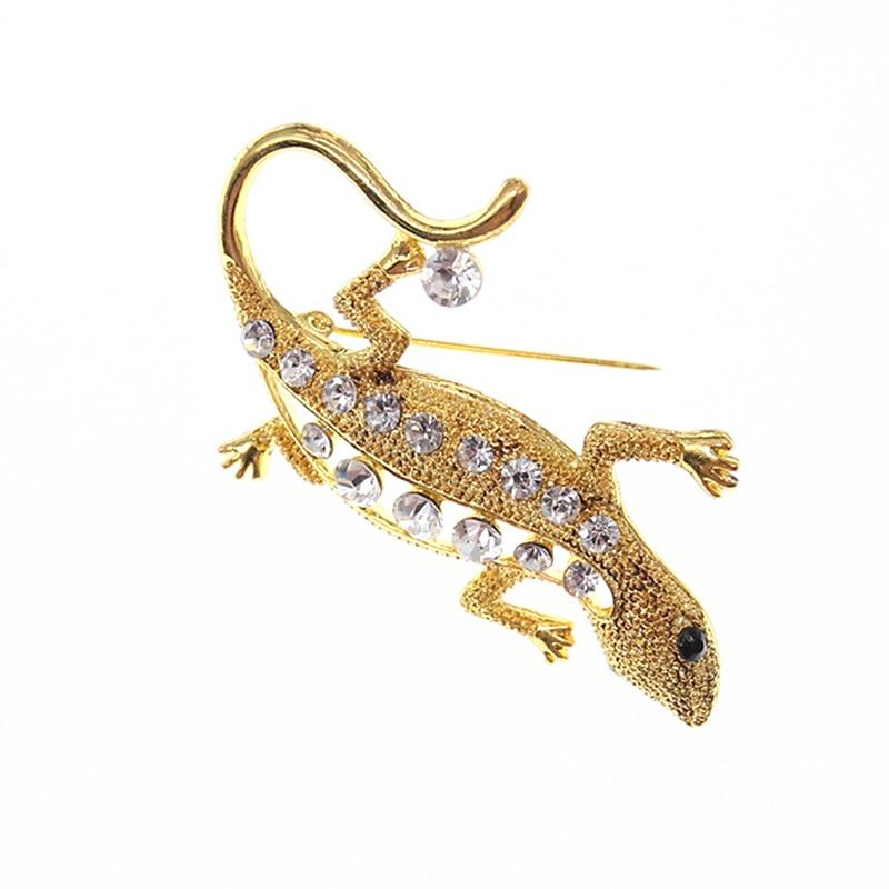 50pcs/100pcs lot Gold Plating Animal lizard Jewelry Broach Pins For Garment Wedding Accessories50pcs/100pcs lot Gold Plating Animal lizard Jewelry Broach Pins For Garment Wedding Accessories