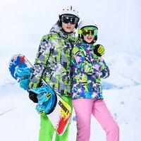 High Experience зимние костюмы для Для женщин Для мужчин; лыжный костюм Для женщин спортивный костюм комплект для сноубординга Для мужчин открытый