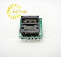 100% NIEUWE OTS-28-1.27 SOP28 SOIC28 IC Test Socket/Programmeur Adapter/Burn-in Socket (OTS-28-1.27-04)
