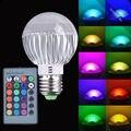 LEDGOO Led e27 Bulb 15W Rgb Controller LED Light Color Change Lamp Bulb 85-265V With Remote Control