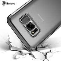 Baseus For Samsung Galaxy S8 Case Cover Clear Simple Multicolor Double TPU Armor Case Anti Knock