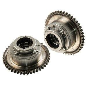 Image 4 - 2PCS Camshaft (Exhaust+Intake) Adjuster Actuator Cam Gears For MERCEDES C250 SLK250 1.8L 2710503347 2710502947 2710501400