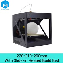 Upgraded Fundo FD220 Plus desktop 3D printer 220*210*200mm printing size fully assembled with slide in heated bed