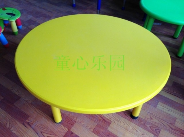 Children Desks And Chairs For Children To Learn Tables Plastic Preschool  Circular