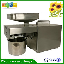 hot sale 110V Or 220V Oil Press Machine Nut Seed Automatic Stainless All Steel Presser High Oil Extraction