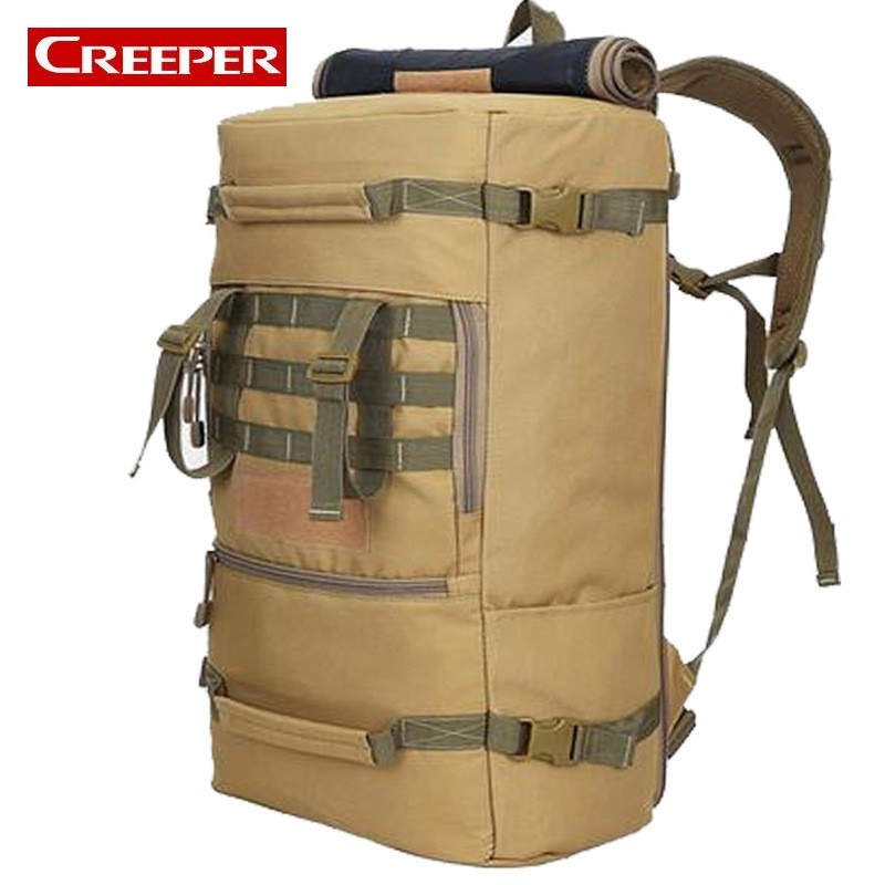 Top Quality 50 L Backpack Outdoor Sports Bag Military Tactical Bags Hiking Camping Waterproof Wear-resisting Nylon Bag 2018 hot 70l big capacity outdoor sports bag military tactical backpack hiking camping waterproof wear resisting nylon rucksack