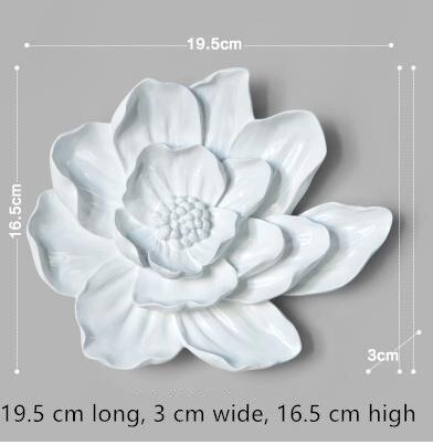 Dreidimensionale Wandsticker, Lotus- und Pfingstrosenblumen, - Wohnkultur - Foto 6