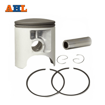 AHL Motorcycle 67mm Piston & Piston Ring Kit Oversize 0.6mm for KAWASAKI KX250 KX 250 1995-2004