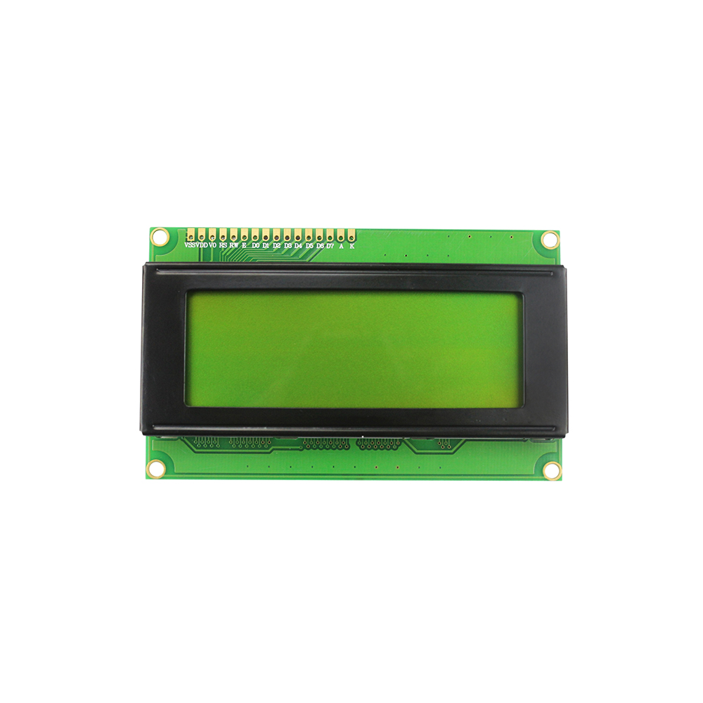 Smart Electronics LCD Display Monitor LCD2004 2004 20X4 5V Character Yellow Green Backlight Screen for arduino