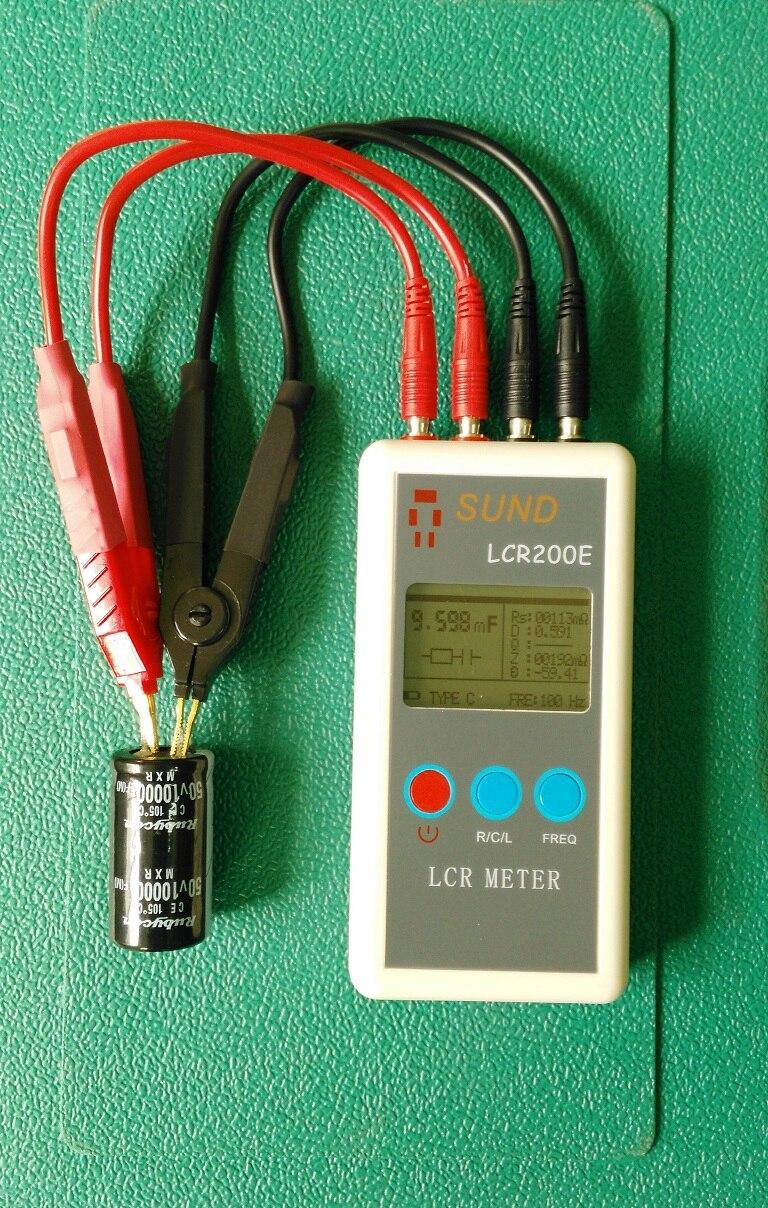 Lcr Meter Resistance : Lcr e digital bridge meter resistance
