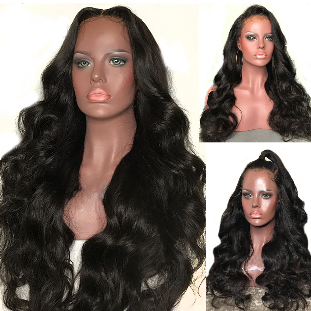 Eversilky Remy Hair 180 Density Glueless Pre Plucked 13x6 Lace Frontal Human Hair Wigs Body Wave Wig Human Hair With Baby Hair