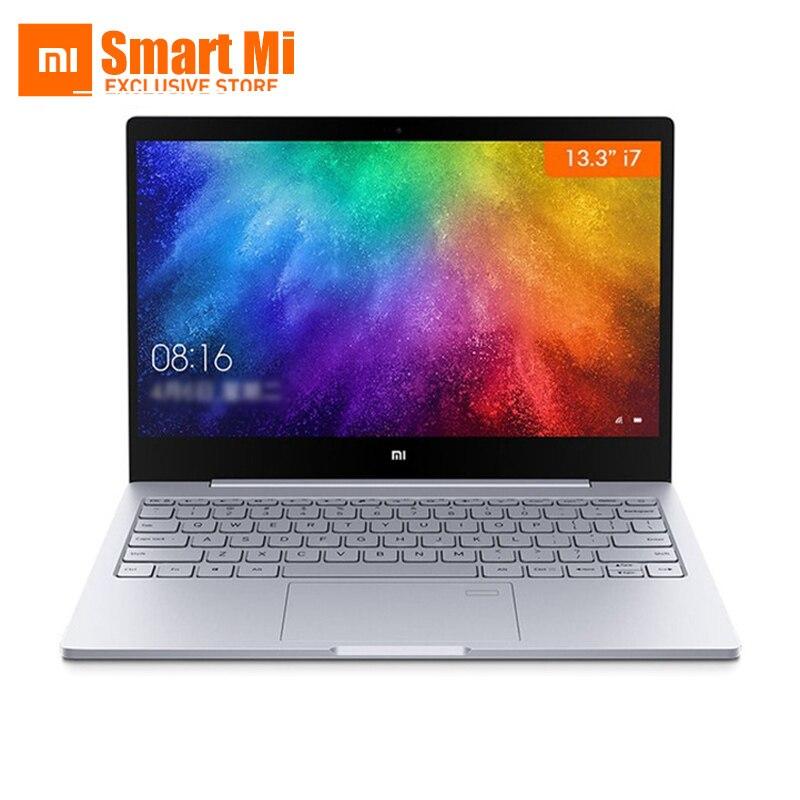 13.3インチXiaomi MiラップトップノートブックAirオリジナルのIntel Core i7-7500U 8GB DDR4指紋認識FHDディスプレイfor Windows 10