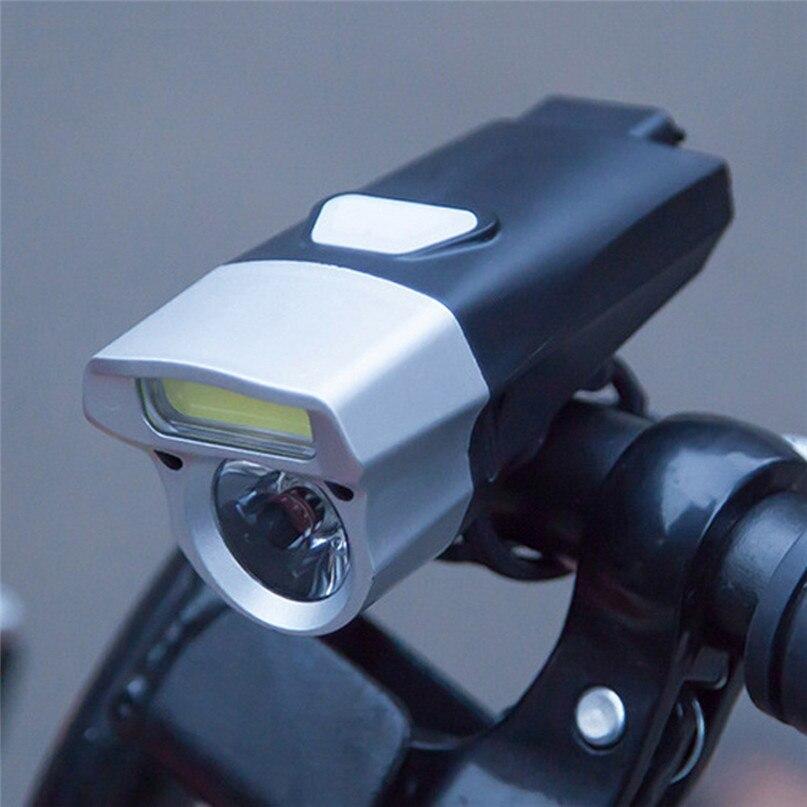 245 Lumen Waterproof Bicycle Light COB LED Bike USB Lamp Light Torch Head front Light lantern led bike headlight #2M18