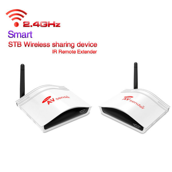 все цены на Smart 2.4G Digital STB Wireless Sharing Device IR Remote Extender AV Transmitter and Receiver 38 KHz/56KHz Transmission PAT-226