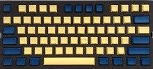 Pbt das пустой цвет желтый, синий; размеры 34–43 колпачки для 61 87 104 108 minila Игры Механическая клавиатура