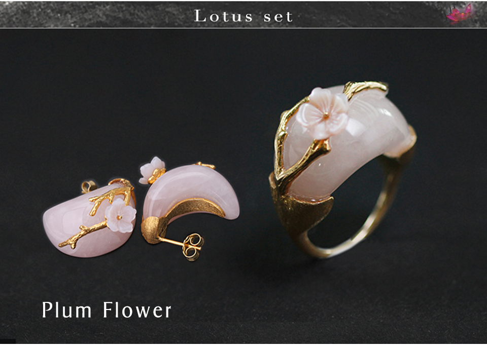 Gold with Pink Stone-2 -