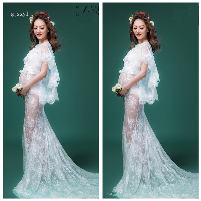 Sexy new photo studio maternity skirt 2017 pregnant photo fashion clothing pregnant women taking pictures mum photography servic ...