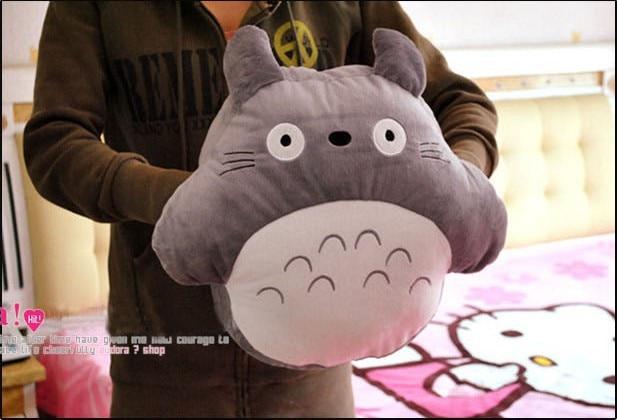 Warm winter,Totoro winter hand po totoro muff totoro pillow hand pillow,totoro plush