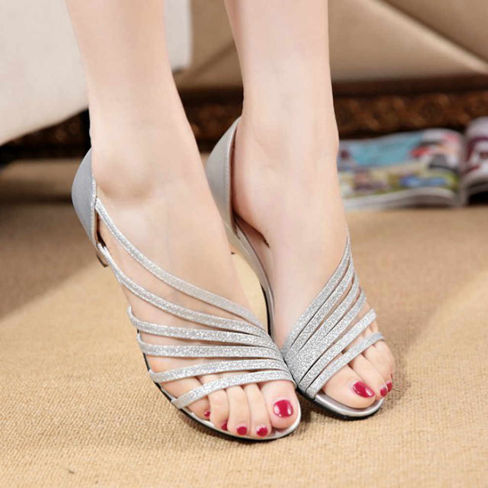 Detail Feedback Questions about SAGACE 2018 Women Hot Elegant Sandals For Woman  Women s Cutouts Women Sandals Open Toe Low Wedges Summer Shoes Beach shoes  ... 8aa27900179d
