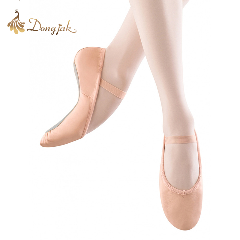 Female Children's Ballet Shoes Practise Soft-soled Leather Shoes Belly Dance Yoga Adults Dance Shoes Women