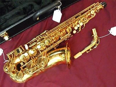 Buffet 400 Series Alto Saxophone Pro Quality High F# Gold ...