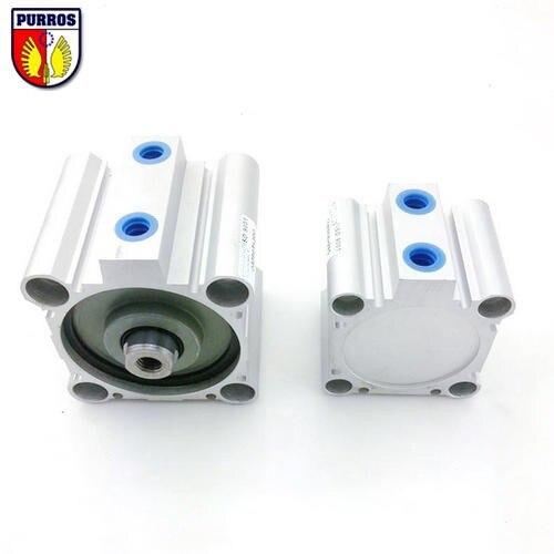 CDQ2B 80 Cylinder, Bore: 80mm, Stroke: 75/80/85/90/95/100mm