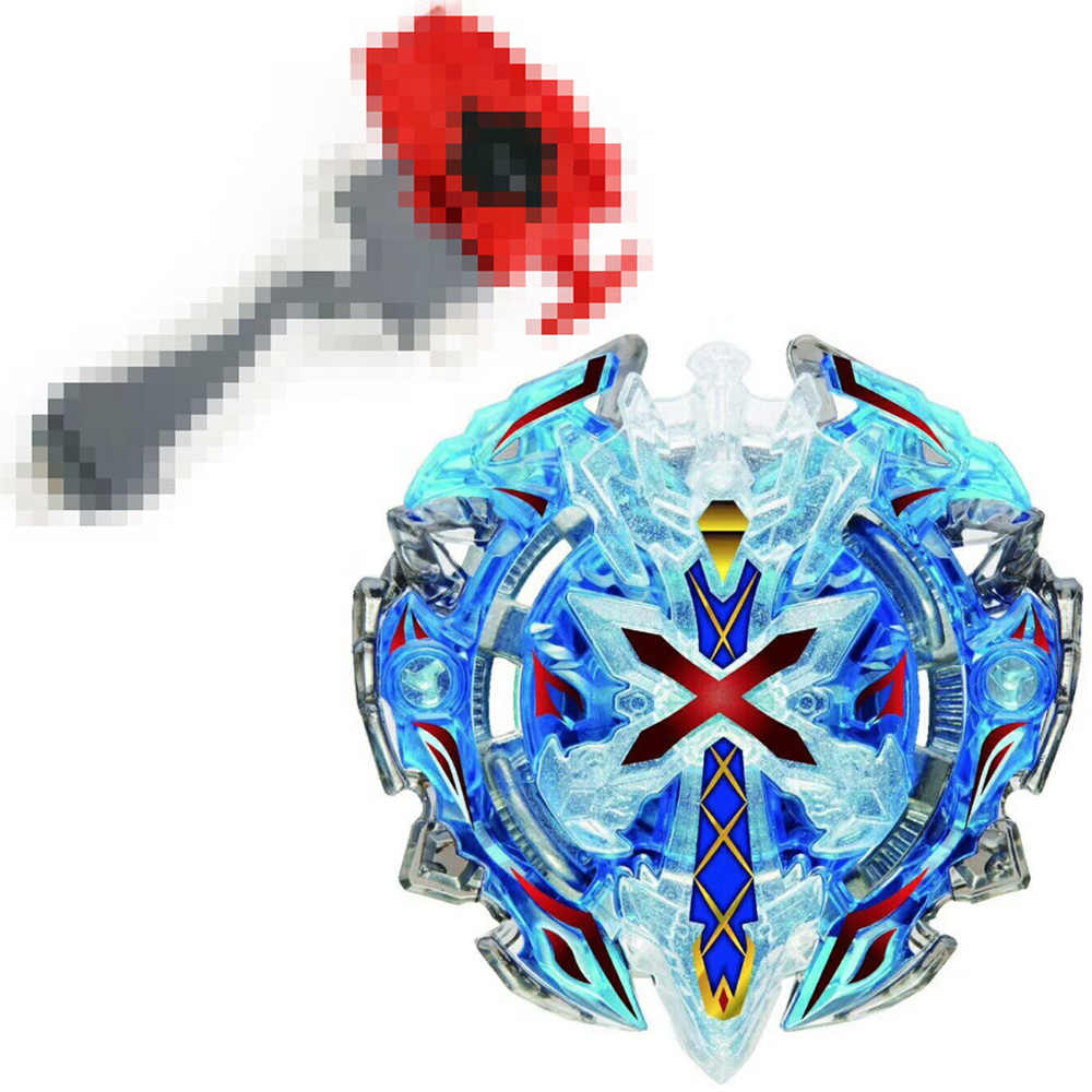 B-67 синий Xeno Xcalibur/Xcalius/Excalibur вниз ORBIT Burst BOOSTER спиннинг топ + рукоятка + пусковая установка