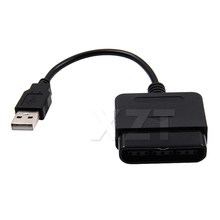 PZ 1pc USB Adapter Converter Kabel VOOR PC Video Game Accessoires Voor Gaming Controller Voor PS2 om Voor PS3(China)
