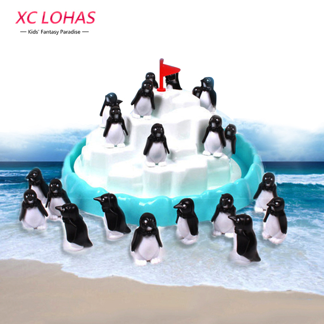 Penguin Iceberg Pile Up Toys Table Balance Game Children Interactive Desk  Toys Penguin Iceberg Stacking Kids