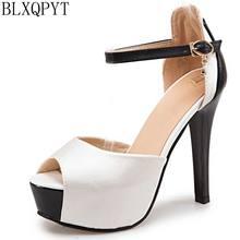 b351bce71 Doce Venda Nova Big Size 32-48 Sandálias de Verão mulheres Casamento sapatos  Da Moda