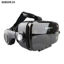 2017 z4 bobovr google картон vr коробка с наушников виртуальная реальность 3d очки коробка для 4.0-6.0 дюймов смартфон + пульт дистанционного управления